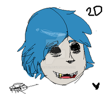 2D sketch by heIIcats