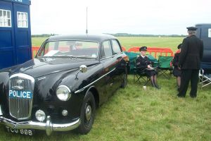 Classic Wolseley Police car by BrightStar2