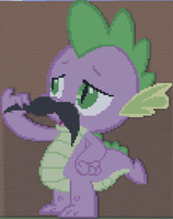 Spike Minecraft by annary