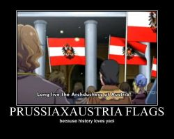 PrussiaxAustria flags... by windalchemist001