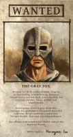 Wanted The Gray Fox by Futurodox