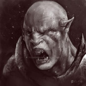 Orc by TizianaFR