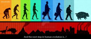 Next step in human evolution by erostrato