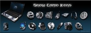 Snow Camo Icons by kingrabbit