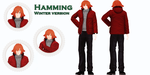 MMD: Hamming. Winter version by KlaidAstoria