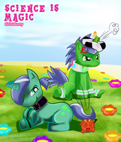 Science is magic- Greens by BiPinkBunny