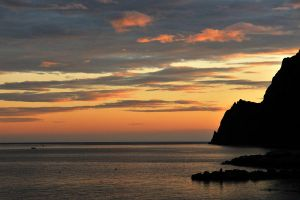 Monterosso sunset 1 by wildplaces