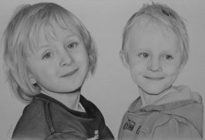 Two little brothers. by Marion84