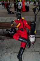 26th Oct MCM LON Team Fortress 2 Red Pyro by TPJerematic