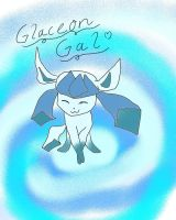Glaceon for GlaceonGal by Eeveelutionluver123