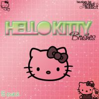 hello kitty photoshop brushes by veintiochojota