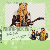 PNG Pack #007: Avril Lavigne by the-pierce