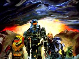 halo reach by diabeticartist