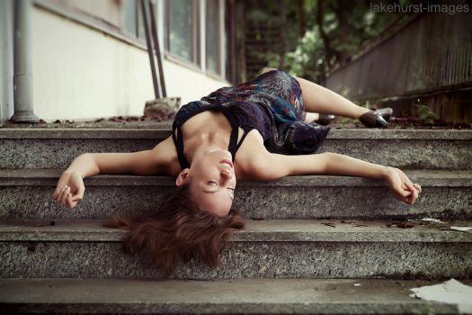 Unconscious on the stairs by lakehurst-images