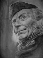 William Hartnell as the first Doctor by andrewyoung64