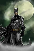 Dark Knight Colored by MetaWorks