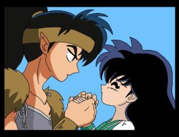 ::Kagome, become my wife...:: by nads6969