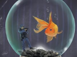 Underwater Police by MissPinks