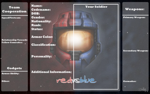 RvB OC Application PNG Version by Omnimon1996