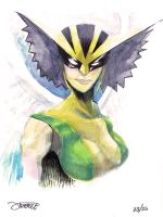 25 Days of DC - Hawkgirl by JeremyTreece