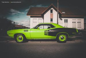 1971 Cuda 440+6 by AmericanMuscle