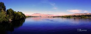 Panorama in Blue by TRunna