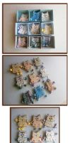 BROOCHES CATS by Comics-kinder