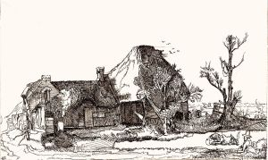 Rembrandt etching no. 2 by DaveCurtis