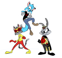 Toon Justice by LilChaosCoyote