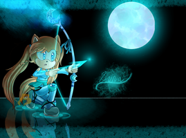 The Moon Archer by xXLily-n-CookiesXx