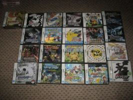 Every Japanese Pokemon Nintendo DS (NDS) Game by EdensElite