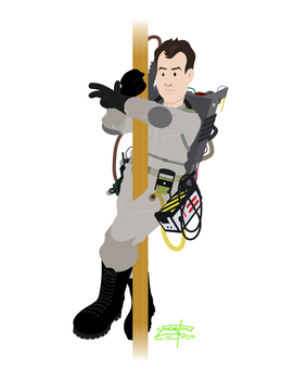 Ghostbusters - Ray by JackAbsinth