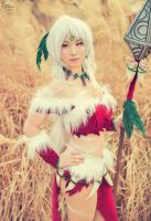 Snow Bunny Nidalee I by EnchantedCupcake