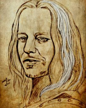 jaqen h'ghar drawing by mohit kumar rao  by mohitkumarrao