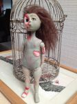 Zombie Doll Harlow Naked by Leesmenagerie