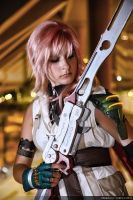 FF13: Lightning Blade by ObscuraVista