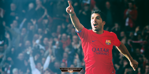 Luis Suarez FC Barcelona 2014/15 wallpaper by SelvedinFCB