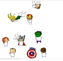Avengers :D by angelisepic