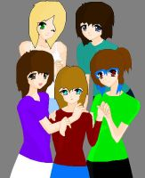 Group of Friends by bubblesvx1100531