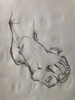 A Foot by Kaneburgness