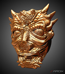 Gold mask by Sarcix82