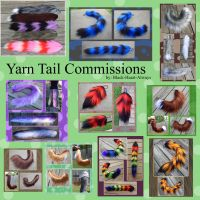 Taking YARN TAIL Commissions for summer! by Black-Heart-Always