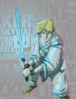 Luke Skywalker by rogueXunited