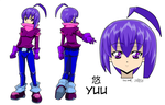 Budo-Kid - Yuu Character Sheet by Zero-Q
