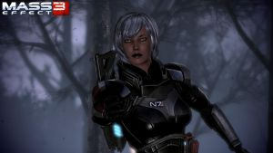 Mass Effect 3 - Wallpaper by Pokethulhu
