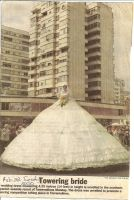 World's Largest Wedding Gown by Lady1Venus