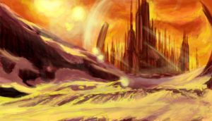 Gallifrey by syccas