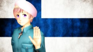 [MMD] Hetalia: Finland by LockdownVII