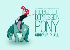 The Depression Pony by rachelthegreat