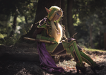 Cosplay: Alleria Windrunner by Shayola